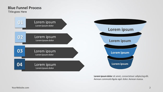 funnel archives - slide ocean, Modern powerpoint