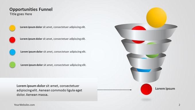 Funnel Diagram Powerpoint Template Brettfranklin