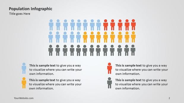 Population PowerPoint Infographic – Slide Ocean