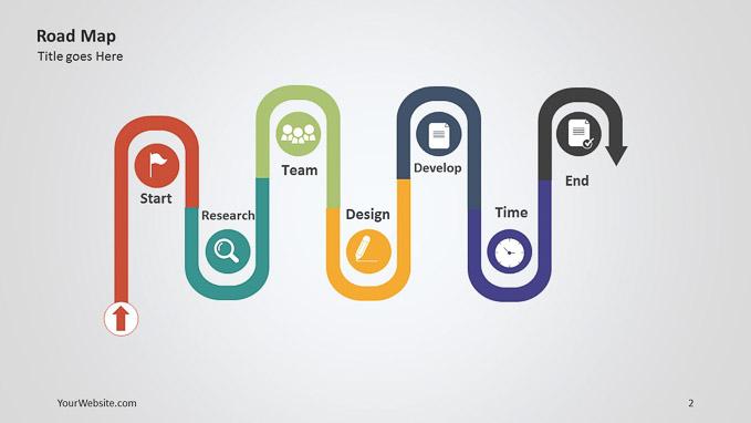 roadmap slide template free gallery template design ideas roadmap slide template free image collections template design