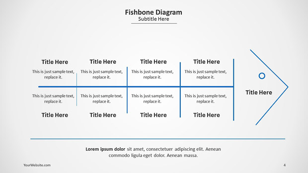 free fishbone diagram template powerpoint