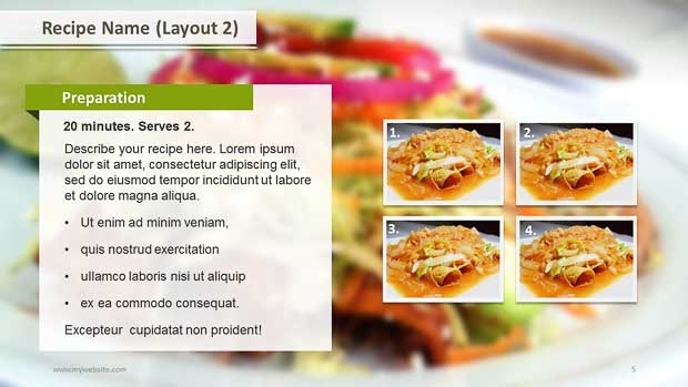 Recipe powerpoint template how to create a cookbook powerpoint jamaica powerpoint templates free choice image recipe powerpoint template toneelgroepblik Gallery