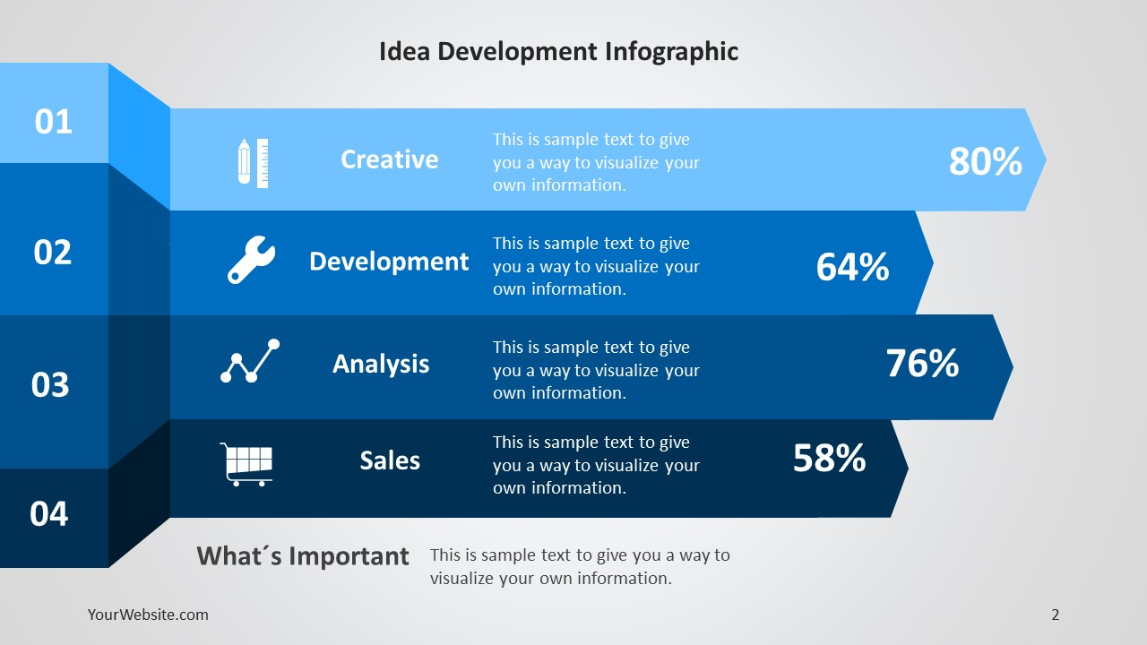 Idea development ppt infographic slide ocean toneelgroepblik Gallery